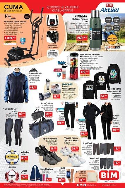 BİM 25 Eylül Aktüel ürünler kataloğu! BİM'de haftanın indirimli ürünler listesi...