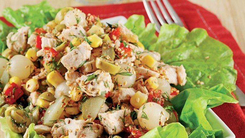 Tavuklu salata tarifi, nasıl yapılır?