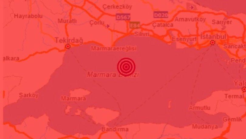 Son dakika deprem! İstanbul'da da hissedilen 4,2 büyüklüğünde deprem meydana geldi!