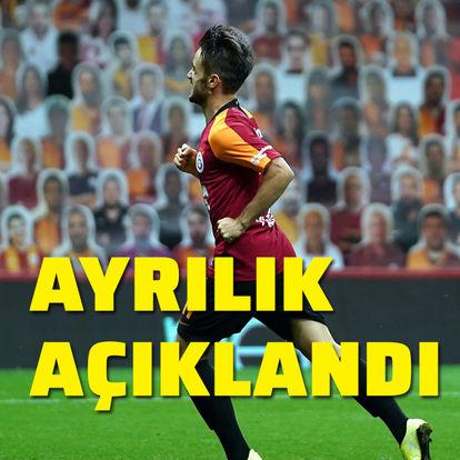 Galatasaray ayrılığı açıkladı