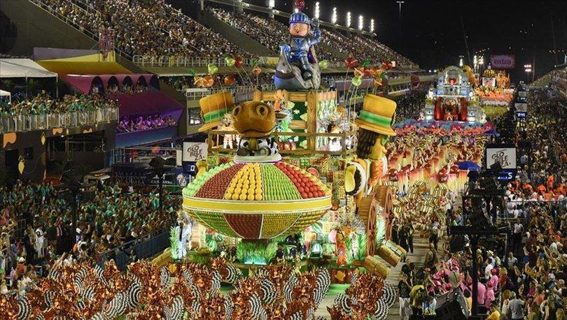 Rio Karnavalı geçit töreni 2021'de gerçekleştirilmeyecek!