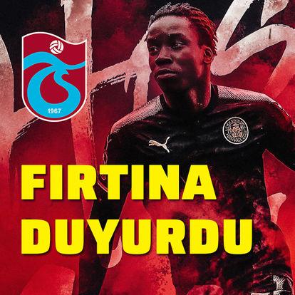 Trabzonspor yıldız ismi açıkladı