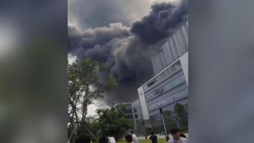 Çin'de Huawei laboratuvarında büyük yangın! - Haberler