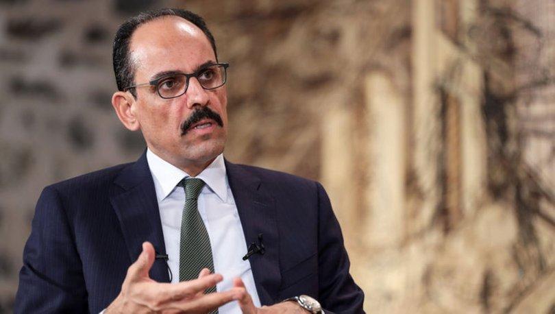 Cumhurbaşkanı Sözcüsü İbrahim Kalın'dan müzakere açıklaması