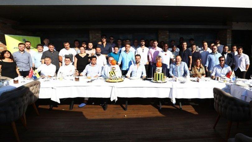 Fenerbahçe Beko oyuncuları, yemekte bir araya geldi