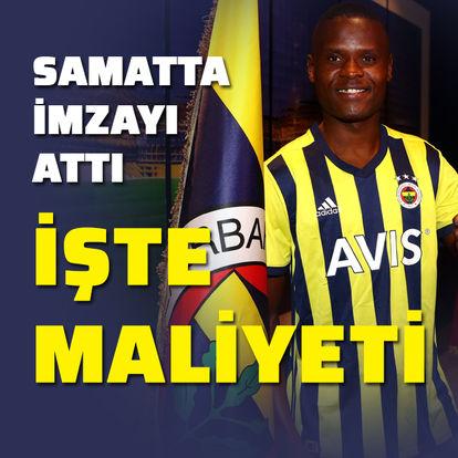 Fenerbahçe, Samatta'yı KAP'a bildirdi!