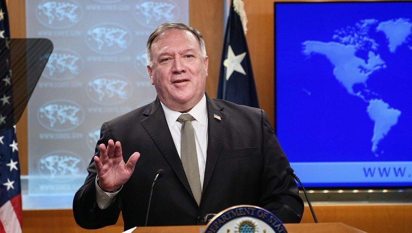 ABD Dışişleri Bakanı Pompeo, Yunanistan, İtalya ve Hırvatistan'a gidecek