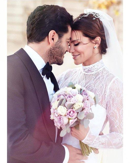 Ebru Şallı: Evlilik yıl dönümümüz kutlu olsun çizgi gözlüm - Magazin haberleri
