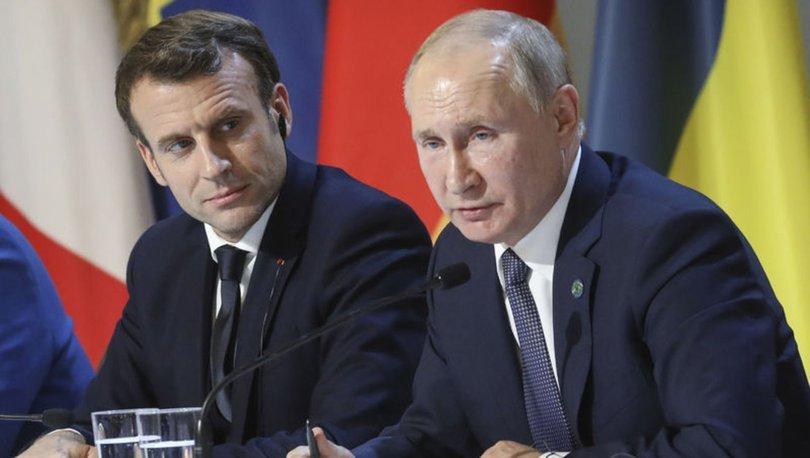 Fransa, Putin-Macron görüşmesinin içeriğini paylaşan gazetelere soruşturma açtı