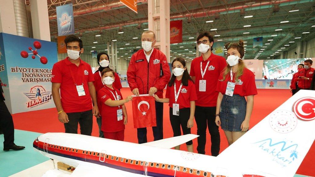 Cumhurbaşkanı Erdoğan: Bu bir tercih değil mecburiyet