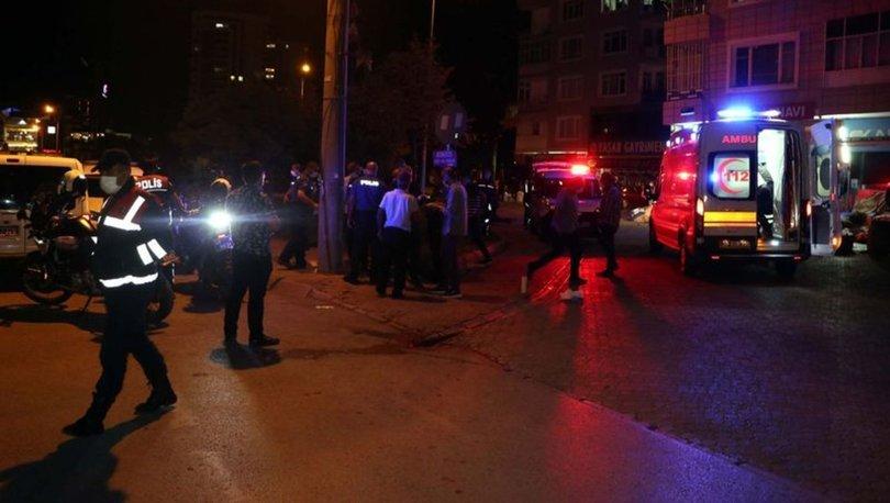 Kayseri'de iki grup arasında silahlı- bıçaklı kavga 2 yaralı