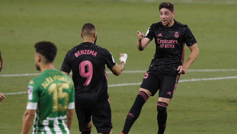 Real Betis: 2 - Real Madrid: 3 MAÇ SONUCU