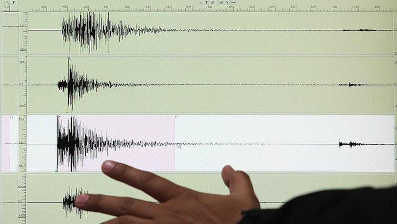 Son dakika! Ege Denizi'nde 5.4 büyüklüğünde deprem