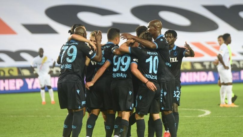 Trabzonspor'un sahasındaki galibiyet hasreti sona erdi