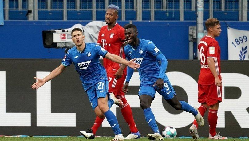 Hoffenheim: 4 - Bayern Münih: 1 (MAÇ SONUCU)