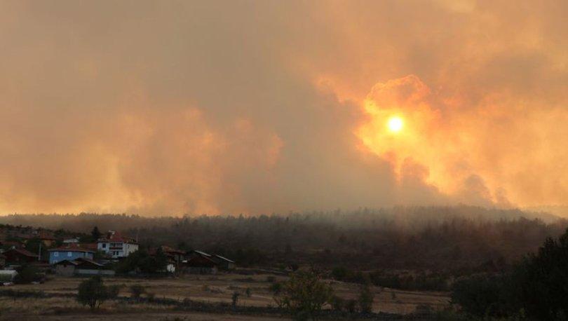 Son dakika haberi... Bolu'daki orman yangını kontrol altında