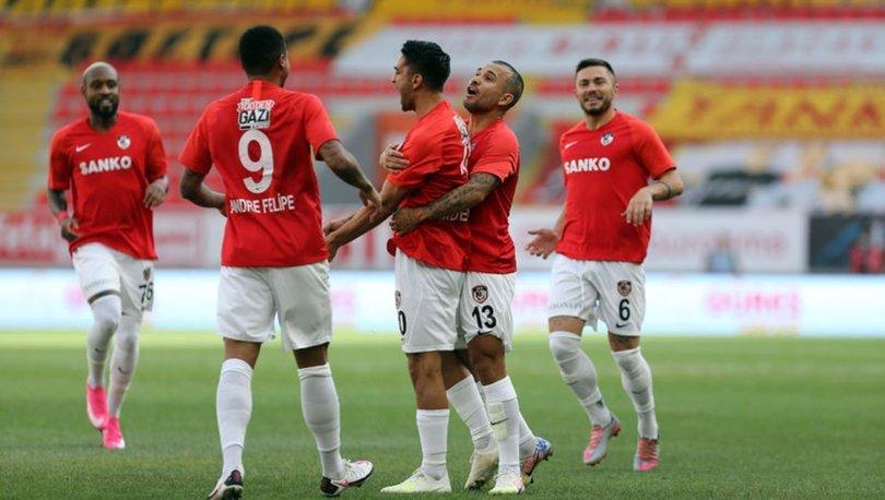 Gaziantep FK'nin maçlarında uzatma dakikaları gollü geçiyor