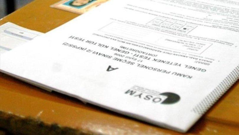 KPSS önlisans ne zaman? KPSS önlisans sınav giriş belgesi ne zaman yayınlanacak 2020