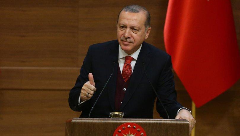Cumhurbaşkanı Recep Tayyip Erdoğan'dan 4 partiye teşekkür