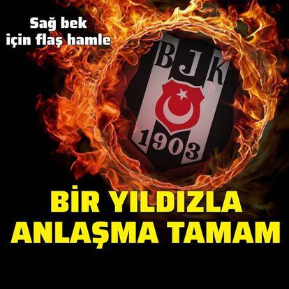 Beşiktaş'ta sağ beke 2 aday!