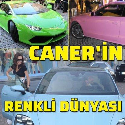 Caner Erkin'in renkli dünyası