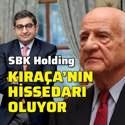 SBK Holding, Kıraça'nın hissedarı oluyor