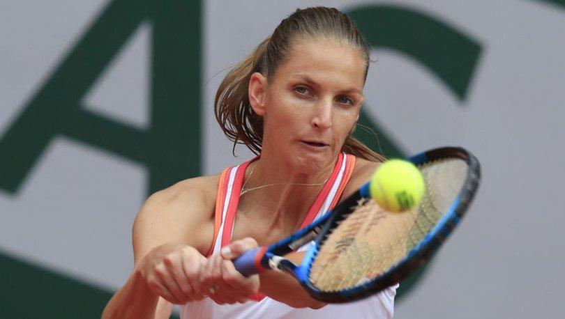 Fransa Açık'ta Pliskova ve Kenin ikinci turda