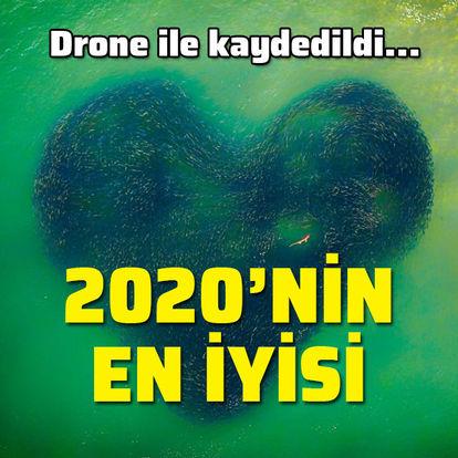 Drone ile kaydedildi... 2020'nin en iyisi!