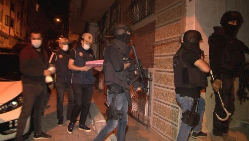 İstanbul'da terör örgütleri DEAŞ ve HTŞ'ye operasyon: Gözaltılar var