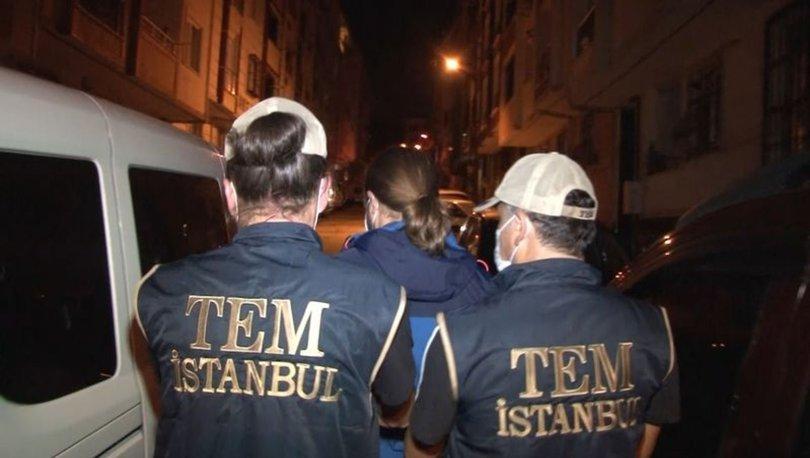 İstanbul'da 8 ilçede DEAŞ ve HTŞ'ye operasyon - Haberler