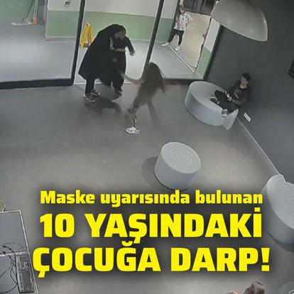 Maske uyarısında bulunan 10 yaşındaki çocuğu dövdüler!
