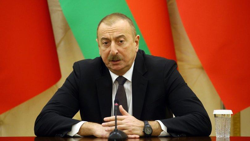 Son dakika! Azerbaycan Cumhurbaşkanı Aliyev: Azerbaycan'ın tek koşulu...