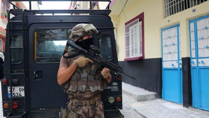 Gaziantep'te uyuşturucu operasyonu! 12 şüpheli gözaltında