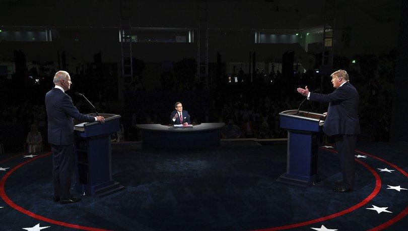 ABD Başkanı Donald Trump ve Joe Biden düellosuna 'eş' damgası!