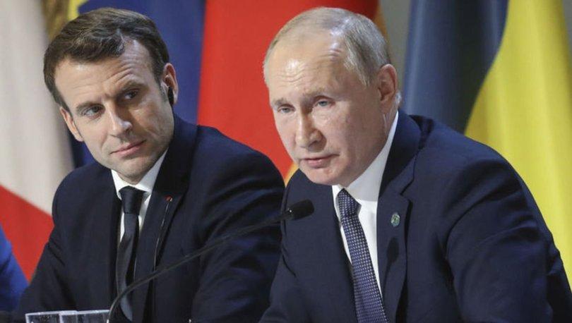 Putin ve Macron, Dağlık Karabağ'daki son gelişmeleri değerlendirdi