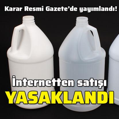 İnternetten satışı yasaklandı