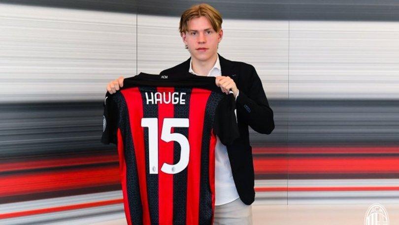 Milan, Norveçli kanat oyuncusu Hauge'ı transfer etti