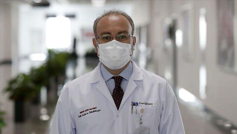 Covid-19'u ağır atlatan Prof. Dr. Yaşar'dan 'Herkesin başına gelebilir' uyarısı