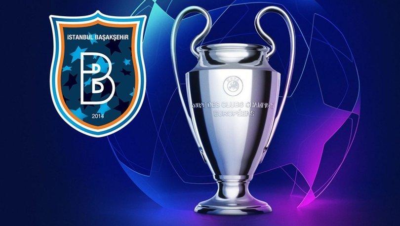 Son dakika: Başakşehir'in Şampiyonlar Ligi'ndeki grubu ve rakipleri belli oldu!
