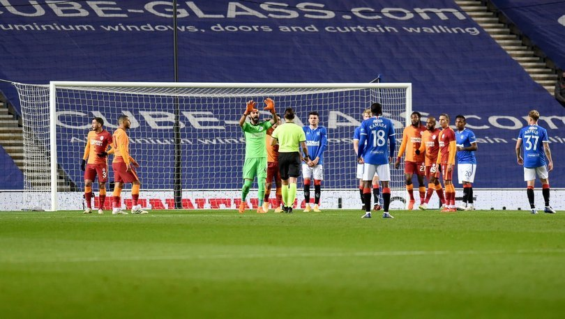 Rangers: 2 - Galatasaray: 1 MAÇ SONUCU