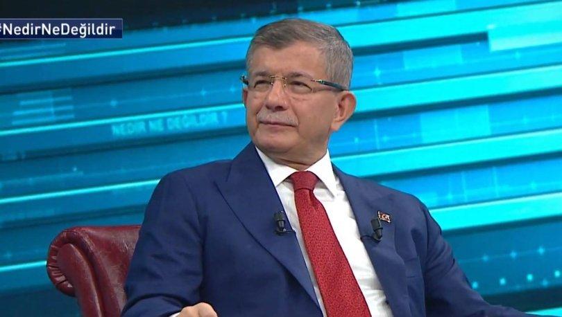 Gelecek Partisi Genel Başkanı Habertürk'te soruları yanıtlıyor