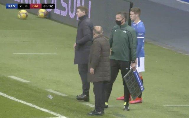 Fatih Terim ve Steven Gerrard arasında gerginlik!