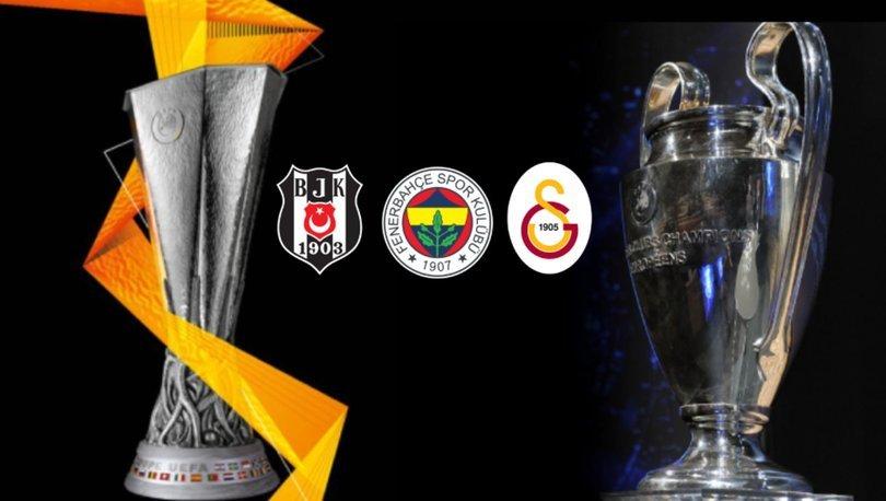 Galatasaray, Fenerbahçe ve Beşiktaş 38 yıl sonra Avrupa'da yok!