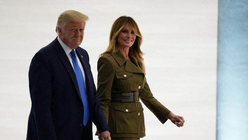 Son dakika! Trump ve eşi koronavirüse yakalandı! Haberler