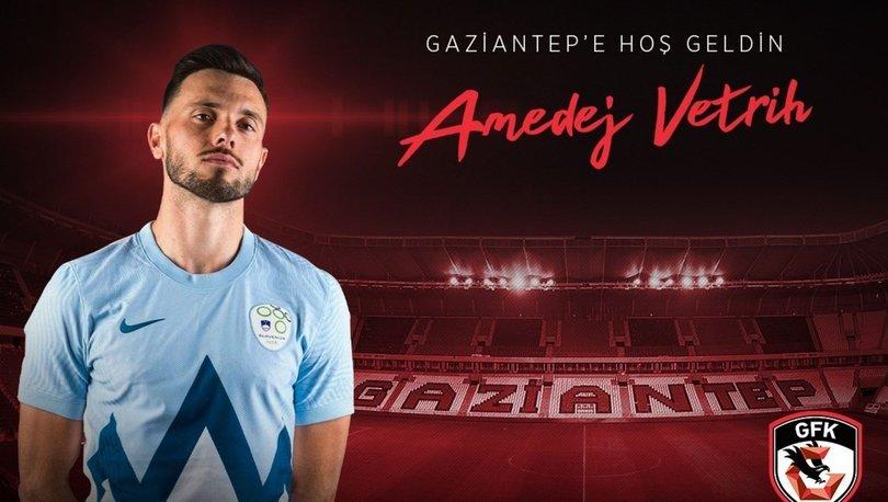 Amedej Vetrih, Gaziantep FK'da