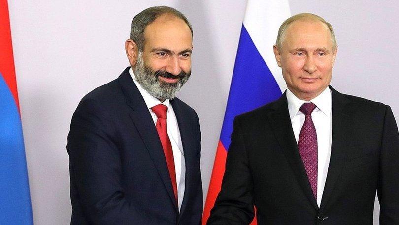 Rusya Devlet Başkanı Putin ile Ermenistan Başbakanı Paşinyan'dan Karabağ görüşmesi