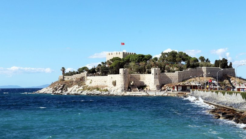 Barbaros Hayrettin Paşanın mirası kale turistlerden ilgi görüyor