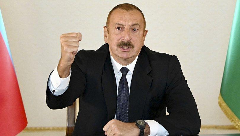 Son dakika! Azerbaycan Cumhurbaşkanı Aliyev: 30 yıl daha bekleyecek vaktimiz yok