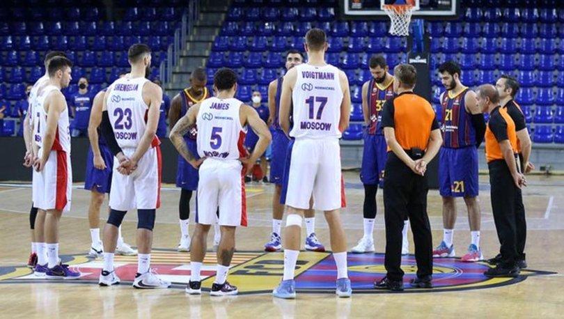 CSKA Moskova'da 3 basketbolcunun Kovid-19 testi pozitif çıktı