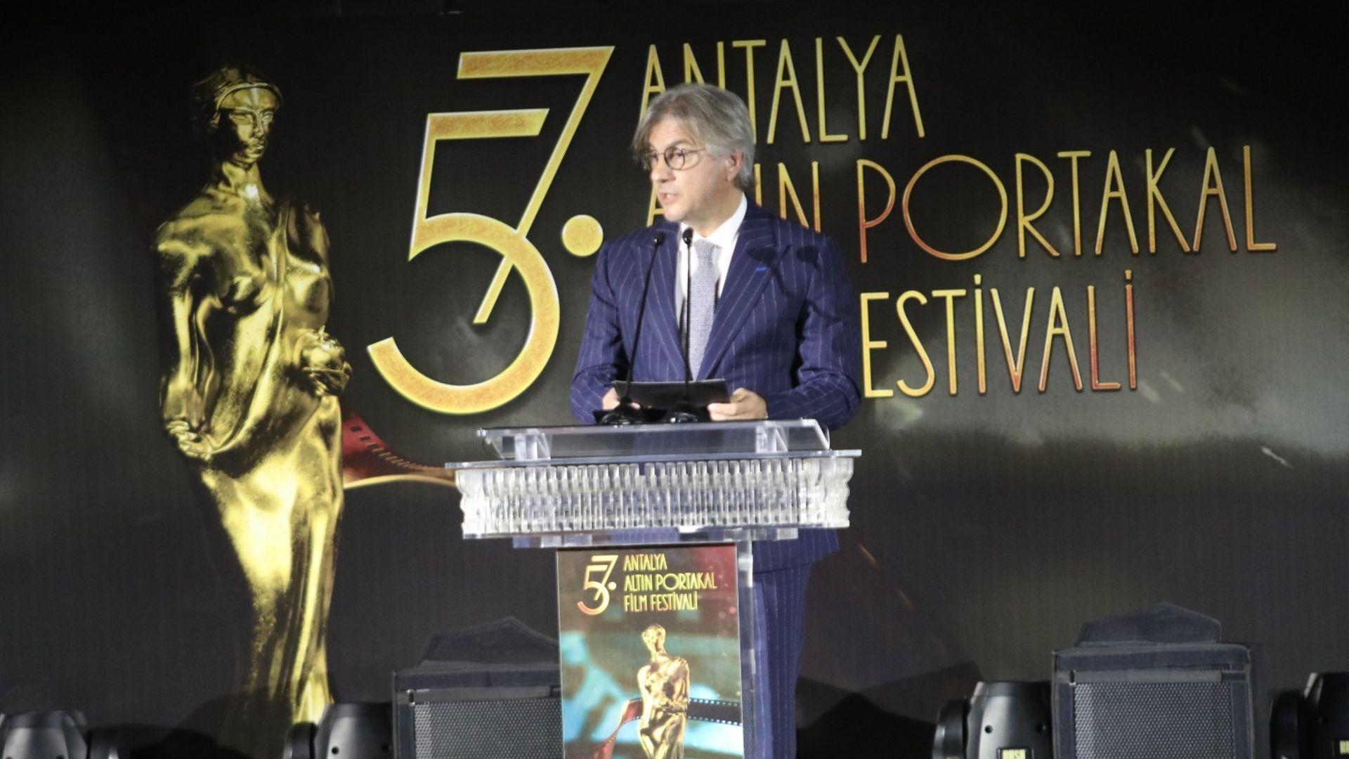 Antalya Altın Portakal Film Festivali Kovid - 19 gölgesinde başladı